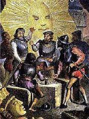 Españoles conquistadores.