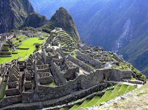 Ruinas del Machu Pichu