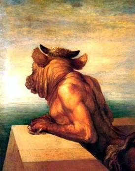 La leyenda de minotauro