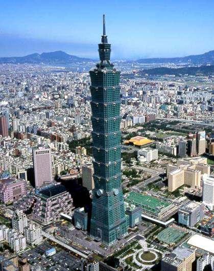 Taipei 101 la torre mas alta del mundo edificio mas grande del planeta
