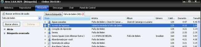 ARES: DESCARGA GRATUITA DE MILES DE TEMAS MUSICALES EN MP3