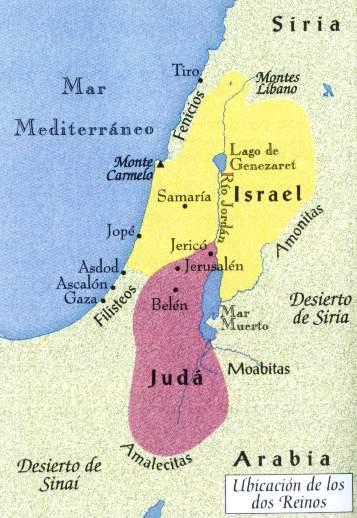 Palestina, Historia de los Israelitas