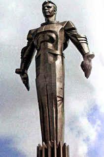 estatua de gagarin