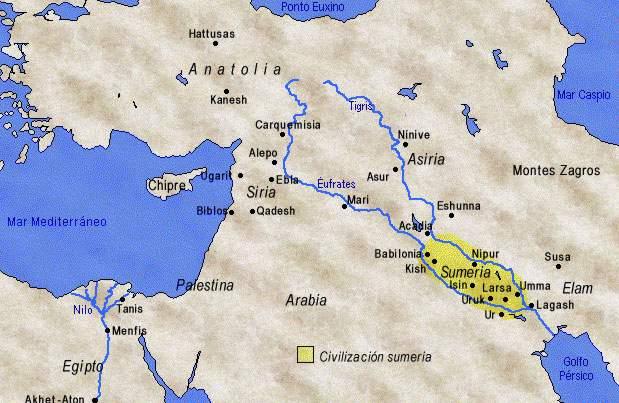 musica antigua asiria: