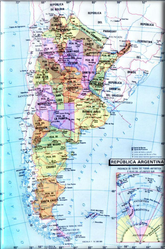 Geografia de la Republica Argentina
